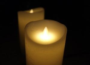 Enlighten LED Candle