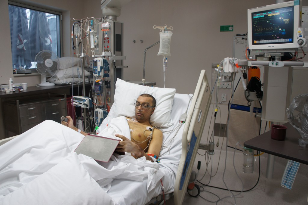 Ipad in ICU