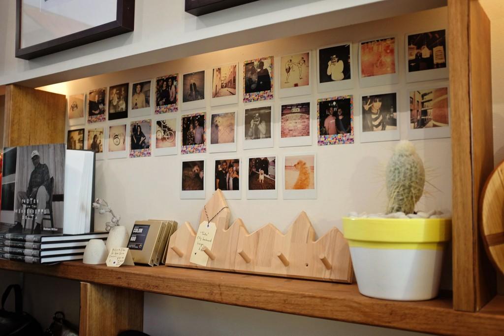 Lunar Store Polaroid