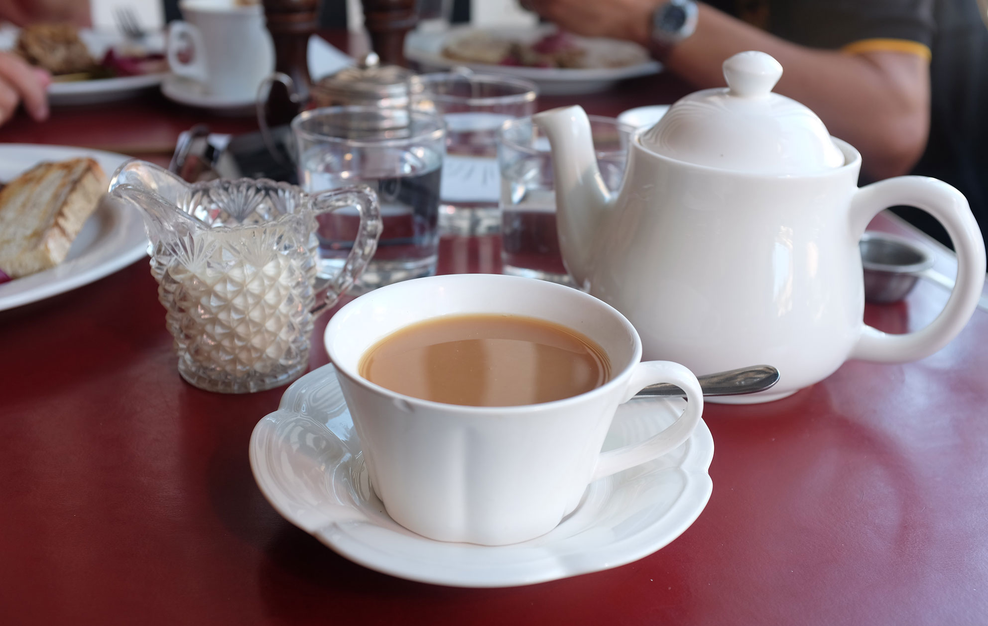 British Drink Tea With Milk
