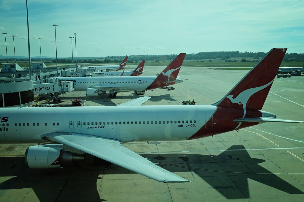 Flying High with Qantas