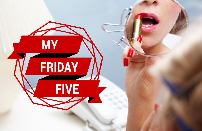 My-Friday-Five-Lipstick
