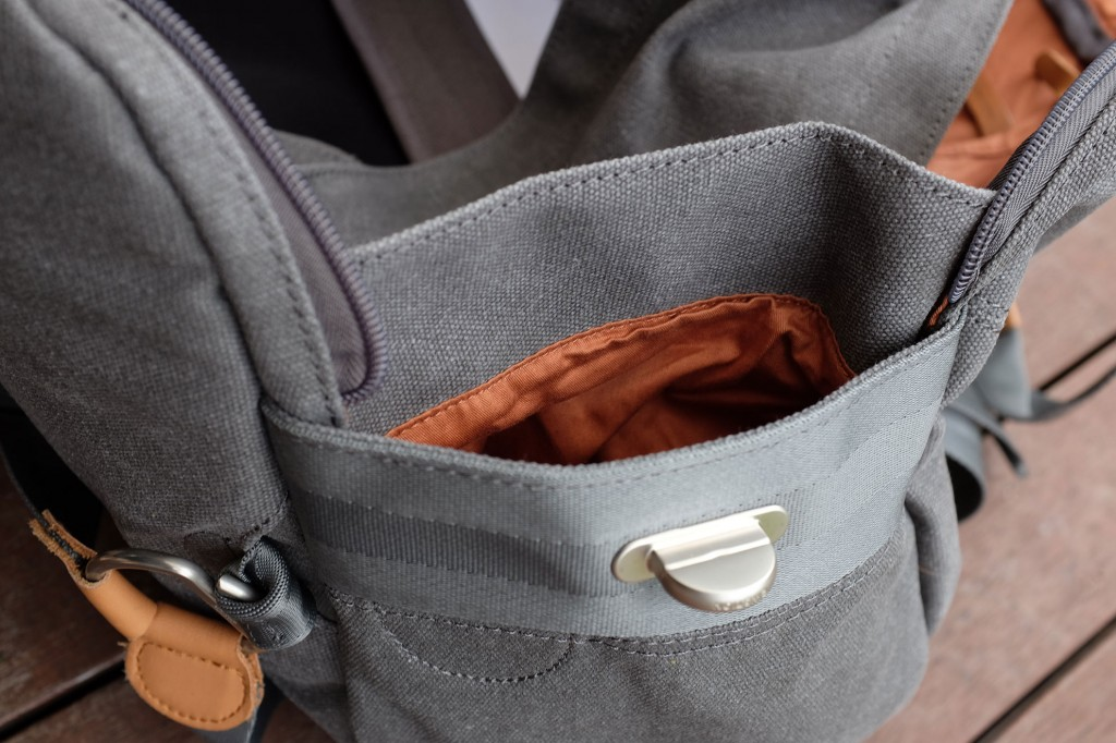 Water bottle pocket