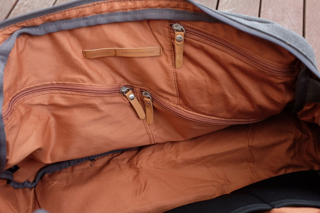 Zippered pockets