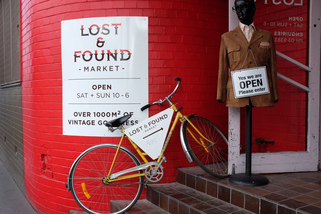 Lost and Found Entrance