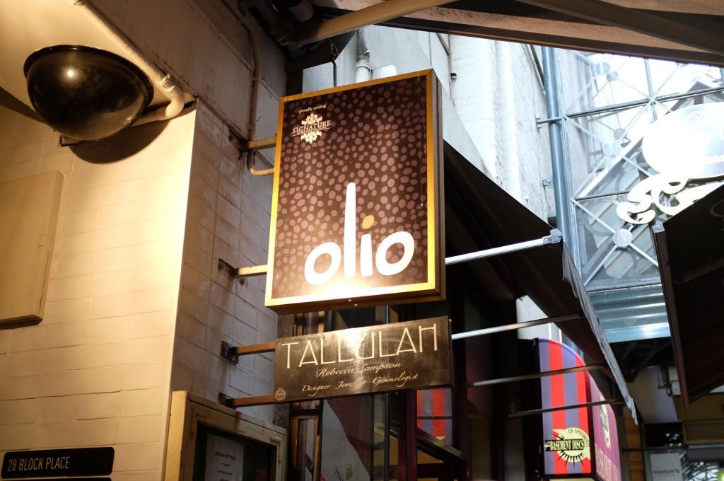 Olio Sign