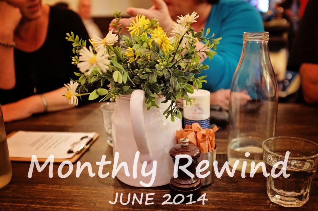 Monthly Rewind June-2014