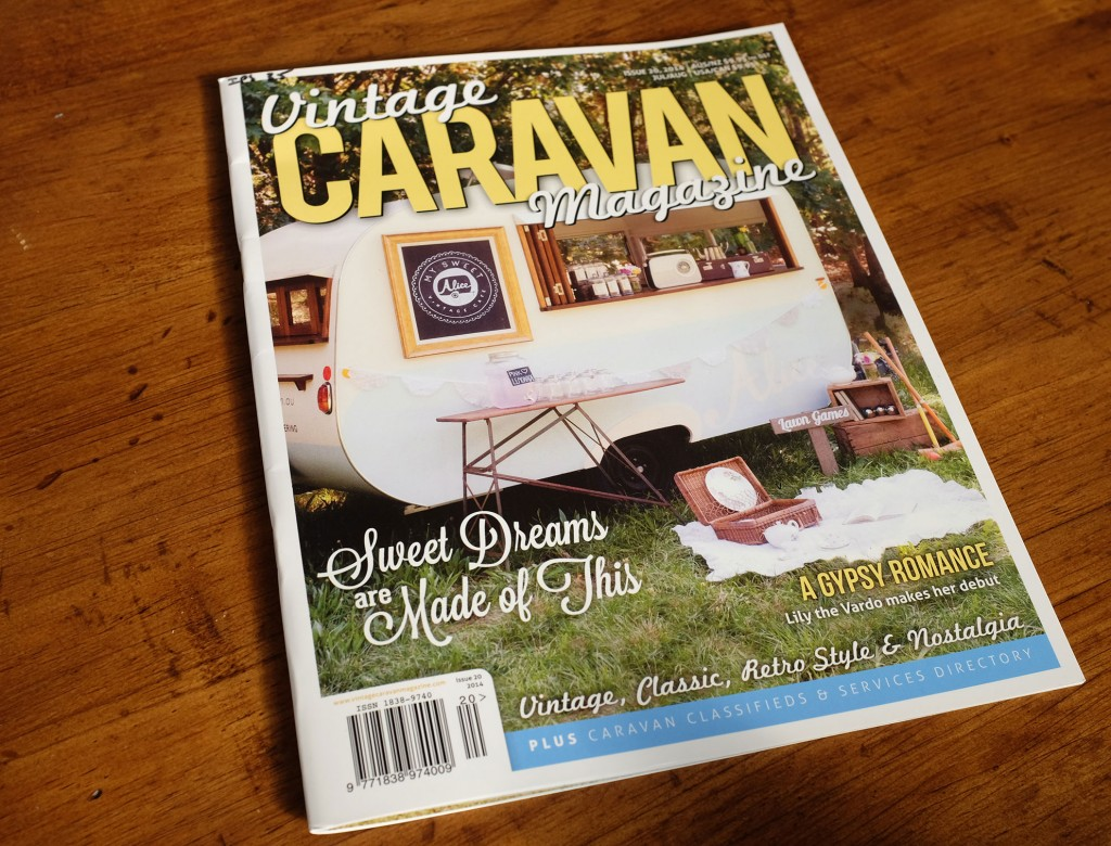 vintage caravan magazine is produced in queensland and. Black Bedroom Furniture Sets. Home Design Ideas