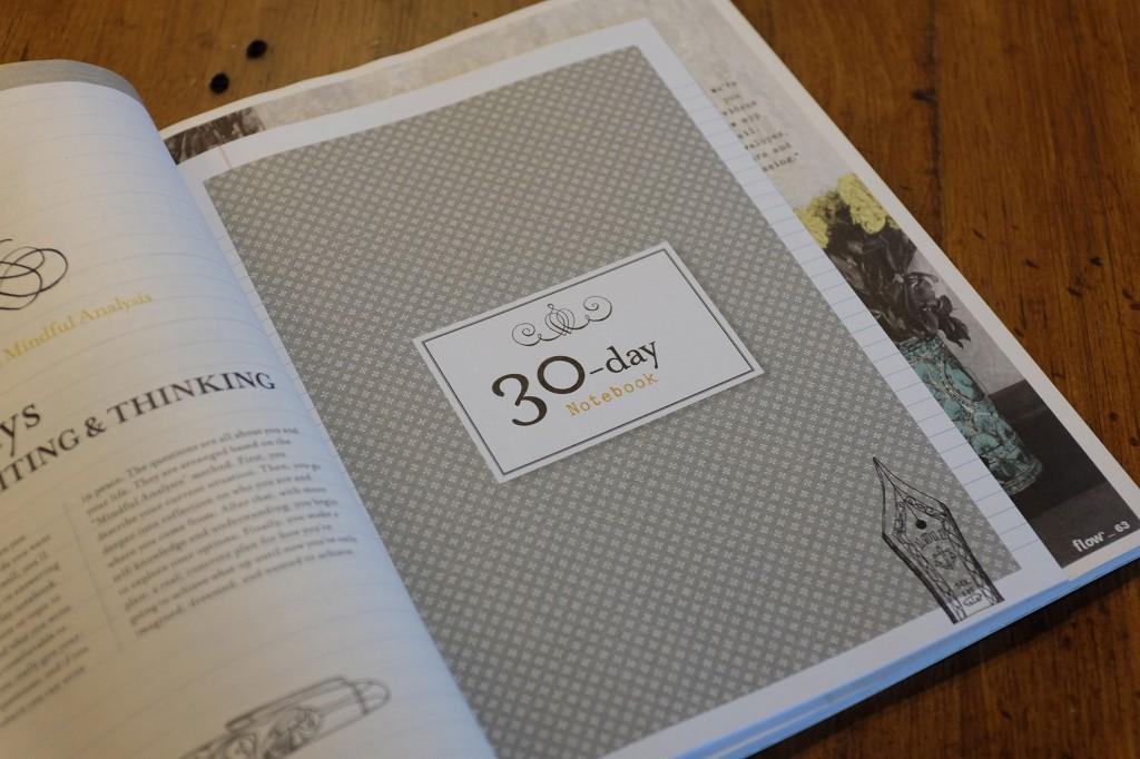 30 days notebook