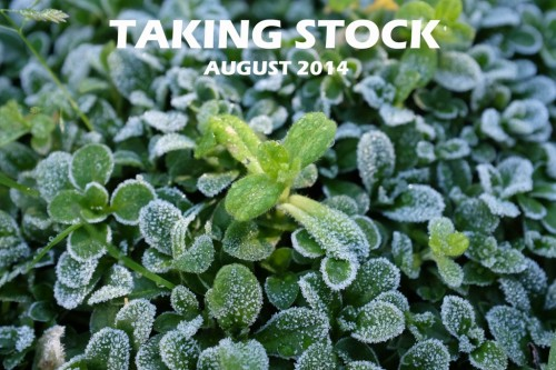 Taking Stock August 2014