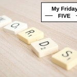 My Friday Five - Obsolete Words