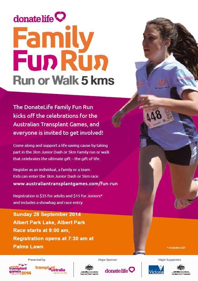 Australian-Transplant-Games-Run
