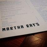 Eating Out - Martha Ray