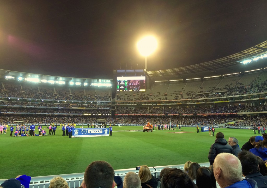 Footy at the MCG