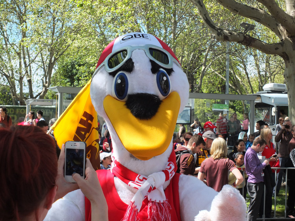 Swan-Mascot
