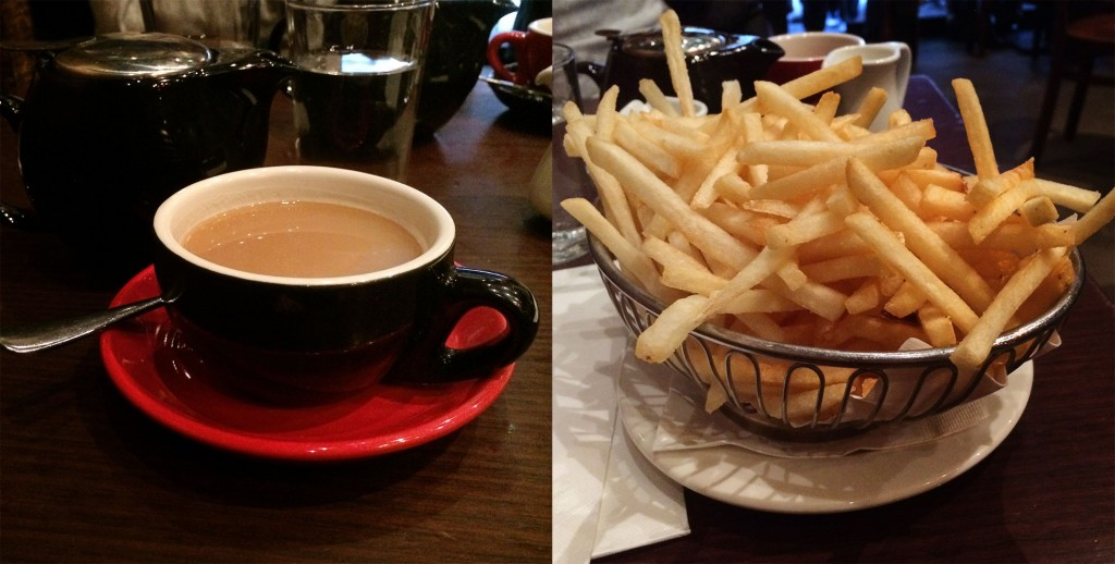 Tea and Chips