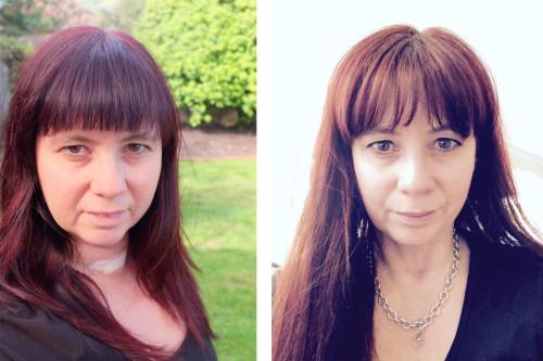 Me a year apart