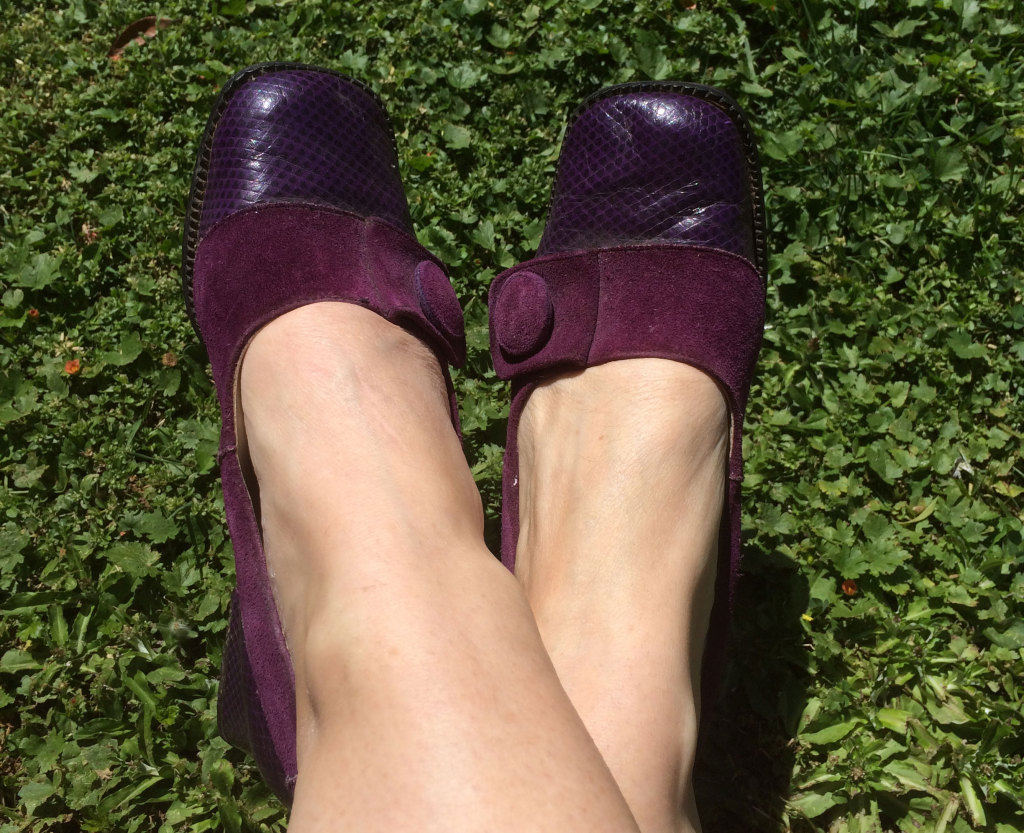 Purple-shoes