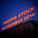 Taking Stock - November 2014