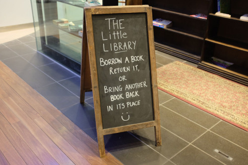 The-Little-Library-Sign