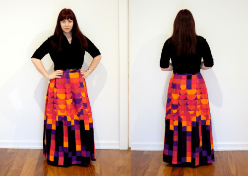 Vintage-Red-Skirt