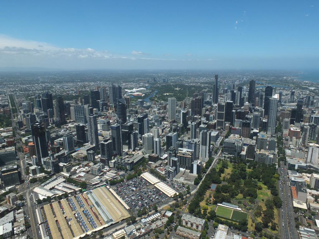 Melbourne-Above