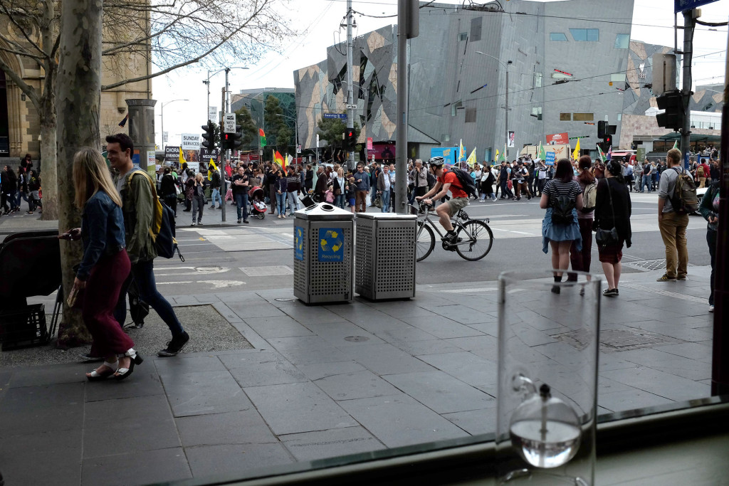 Melbourne-Protest