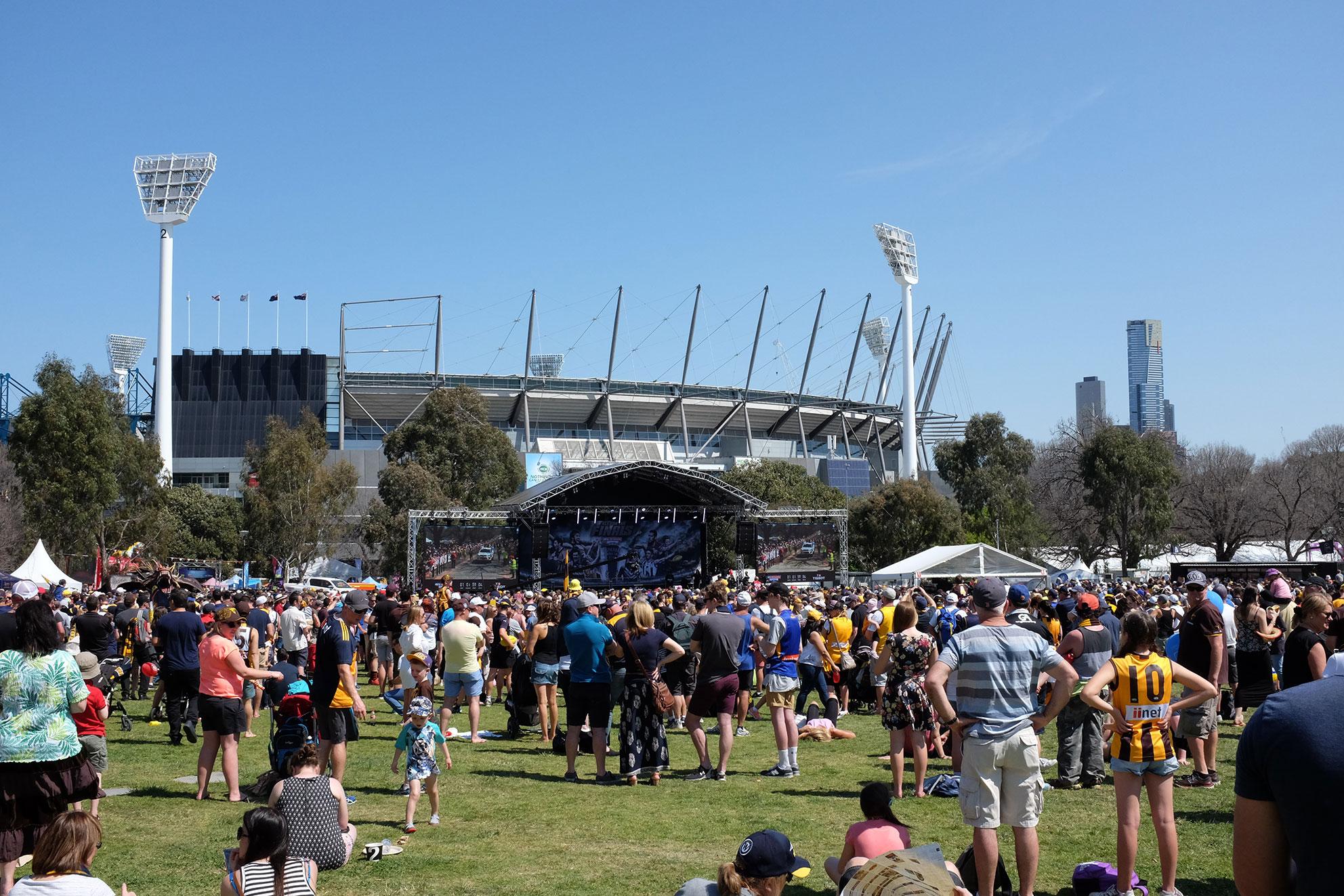 AFL Grand Final Parade 2015 - Zinc Moon