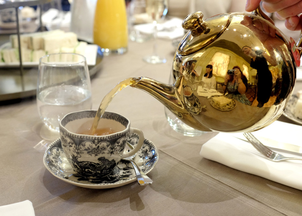 Myer-Mural-Hall-High-Tea-Gold-Teapot