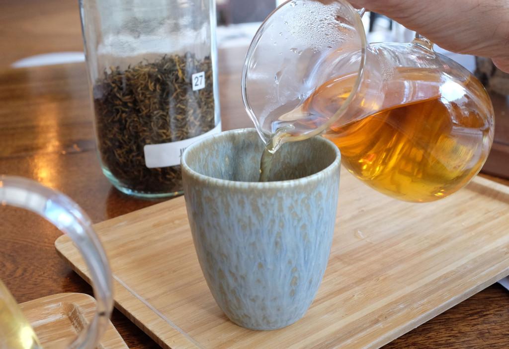Pouring-tea