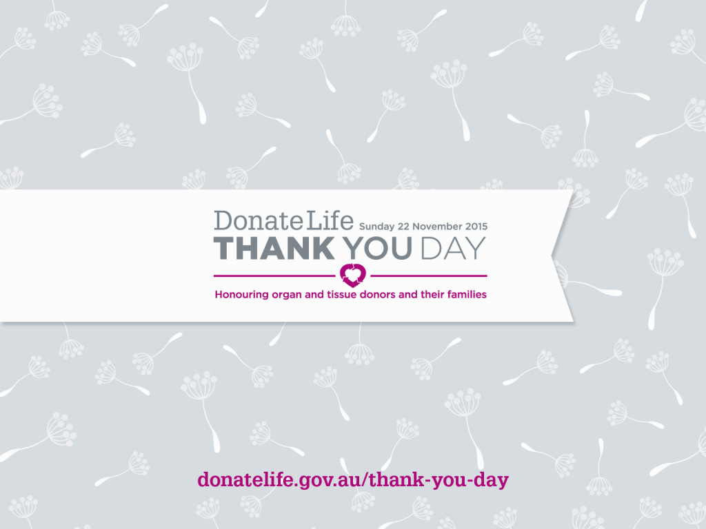 DonateLife Thank You Day