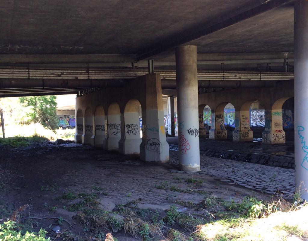 Under-a-bridge