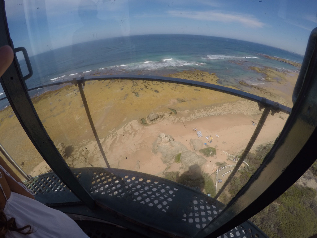 Pt-Lonsdale-Lighthouse-Looking-Down