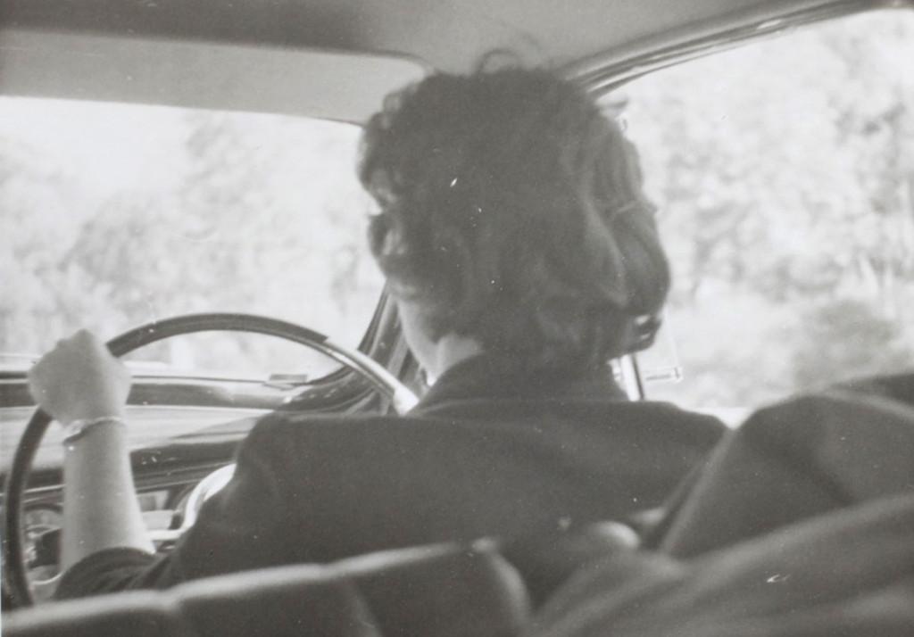 Driving-vintage-car