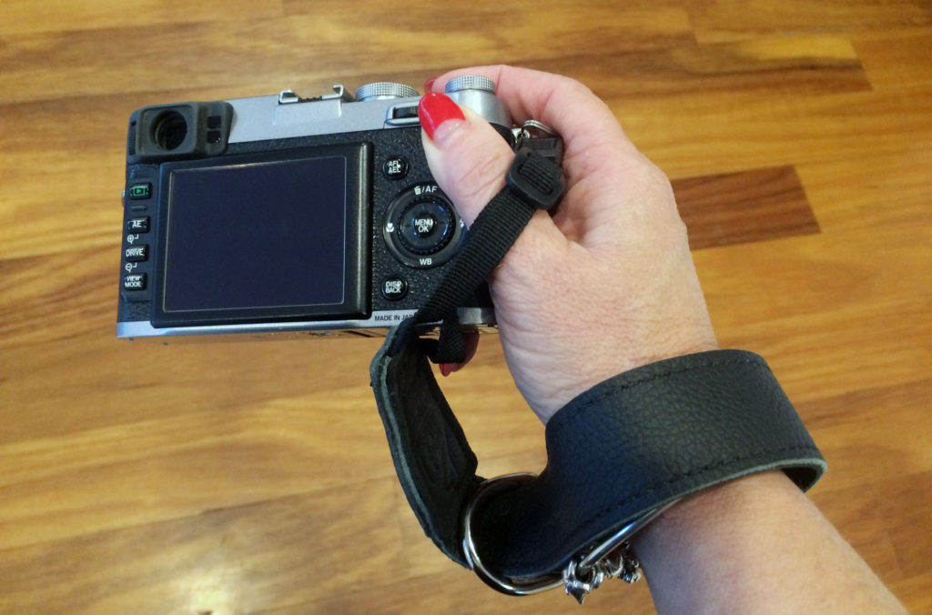 Lucky-Camera-Straps-Wrist-Strap-wearing