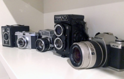 My-vintage-camera-collection