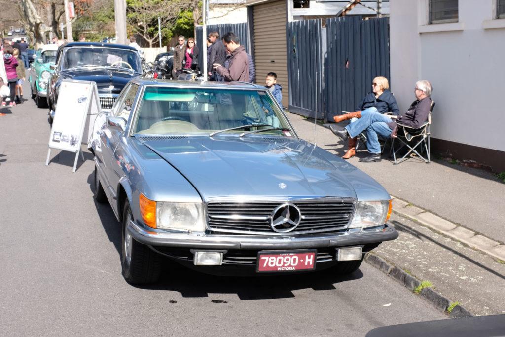 Maling-Road-Auto-Classico-Merc-2-door