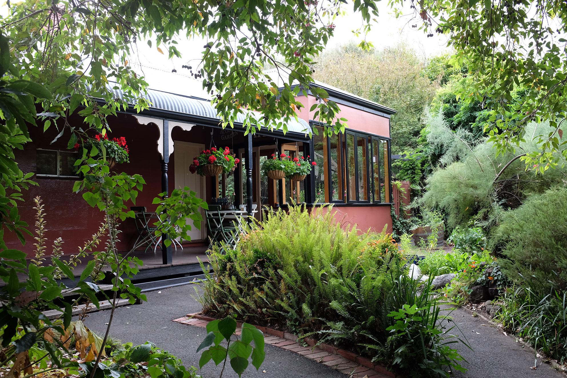Tea At The Hobson S Garden Cafe Zinc Moon