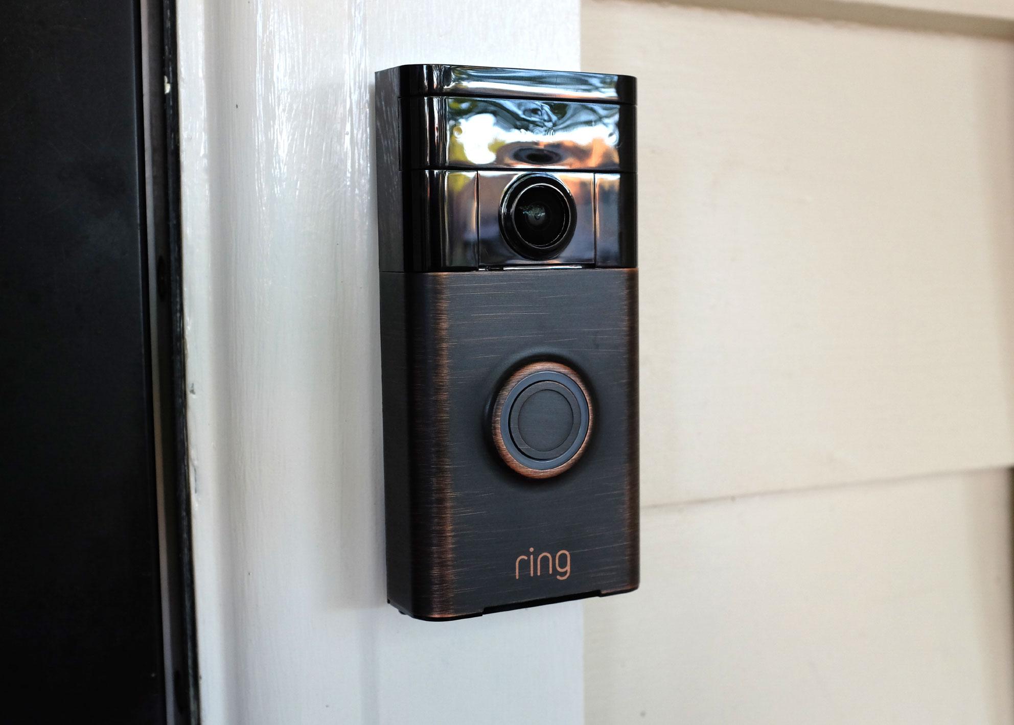 Gadget Review The Ring Doorbell Always Be Home Zinc Moon
